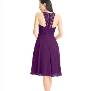 Azazie Sylvia Bridesmaids Dress in Grape